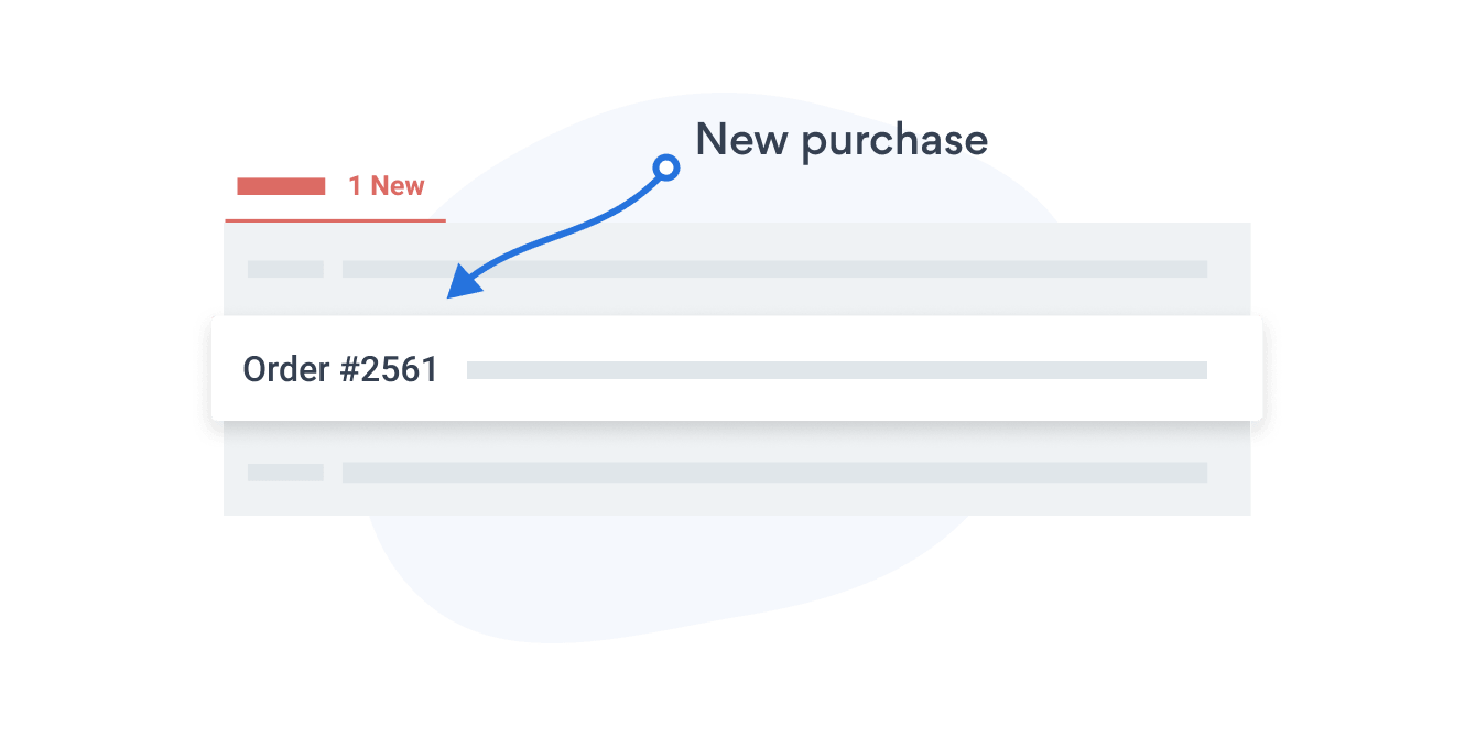 Email notifications for new purchases with POWR eCommerce.