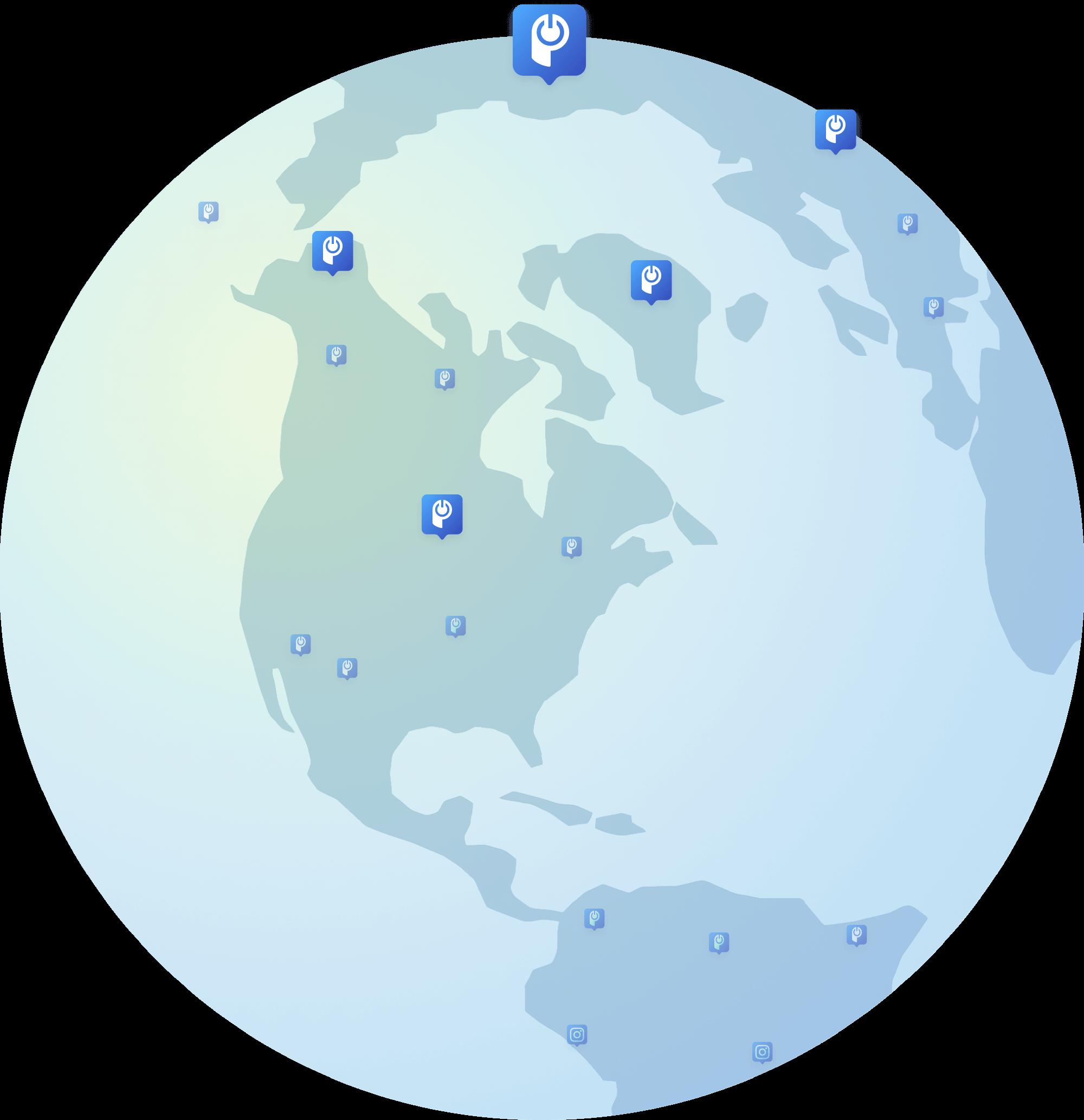 POWR globe